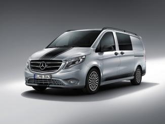 Mercedes-Benz Vito in der Line SPORT.   Mercedes-Benz Vito in the SPORT Line.