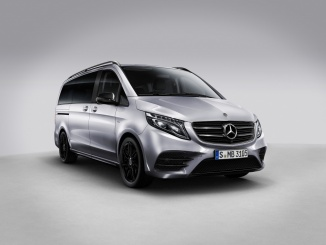 Verkaufsstart der Mercedes-Benz V-Klasse Night Edition   Sales start for the Mercedes-Benz V-Class Night Edition