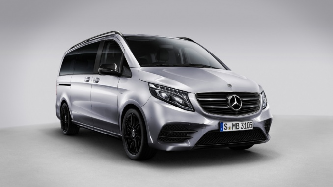 Verkaufsstart der Mercedes-Benz V-Klasse Night Edition   Sales start for the Mercedes-Benz V-Class Night Edition