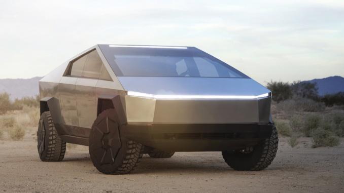 Tesla Cybertruck.