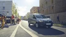 2021 - New Renault Express Van on location
