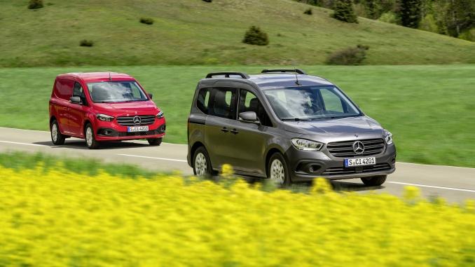 Weltpremiere Mercedes-Benz Citan/eCitan
