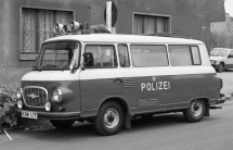 Köthen, Polizeitransporter Barkas